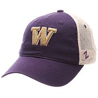 Adult Zephyr Washington Huskies University Adjustable Cap