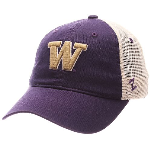 Adult Zephyr Washington Huskies University Adjustable Cap