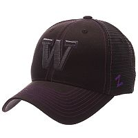 Adult Zephyr Washington Huskies Staple Adjustable Cap