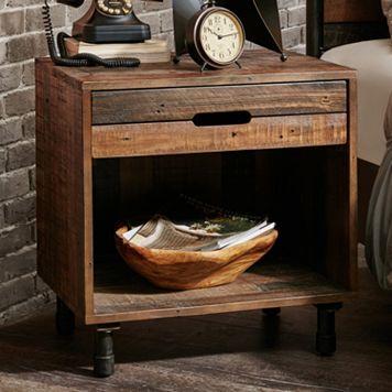 INK+IVY Renu Wood Nightstand