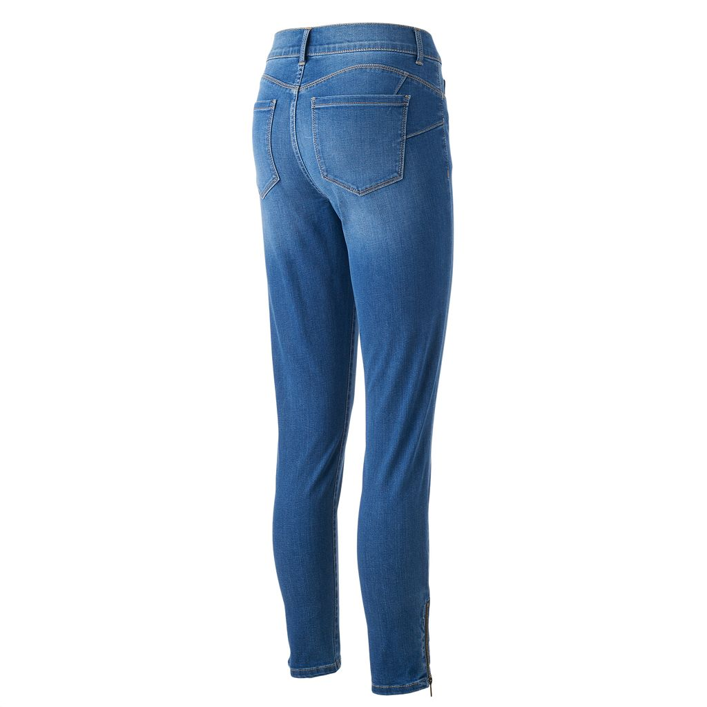Women's Juicy Couture Flaunt It Zipper Accent Skinny Jeans