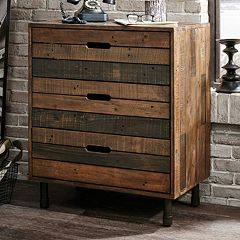 INK+IVY Renu Wood 3-Drawer Dresser