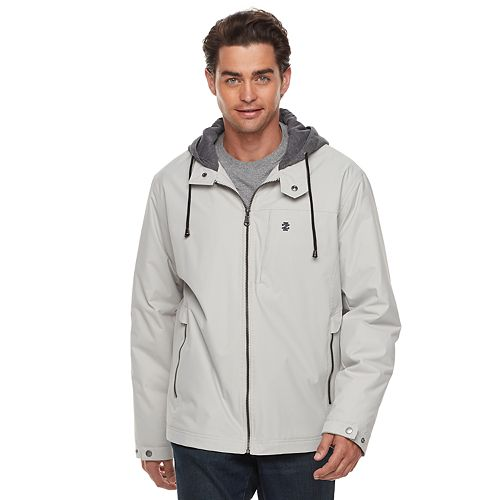 Men's IZOD Hooded Workwear Jacket