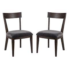 Madison Park Bentner Dining Chair 2 pc Set
