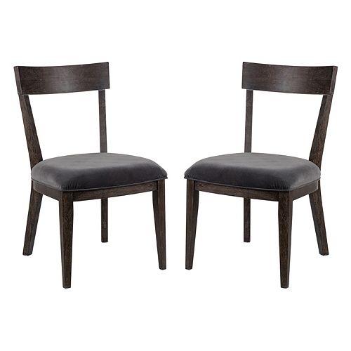 Madison Park Bentner Dining Chair 2-piece Set