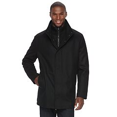 Men's Andrew Marc Wool-Blend Car Coat
