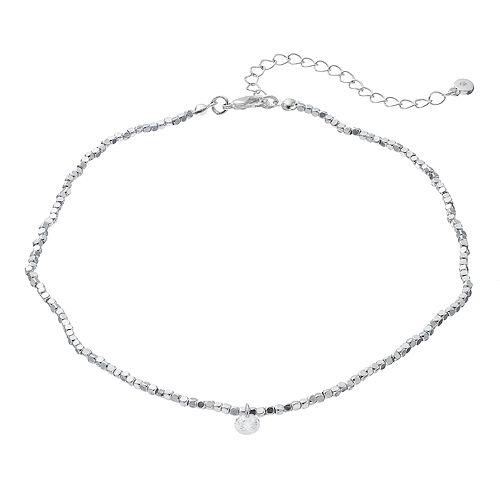 LC Lauren Conrad Cubic Zirconia Cube Bead Choker Necklace