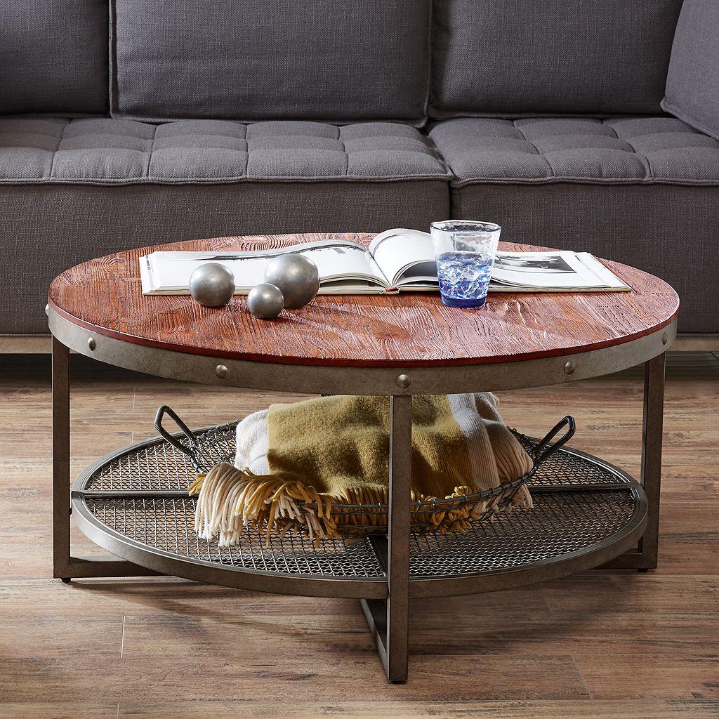 INK+IVY Sheridan Industrial Coffee Table