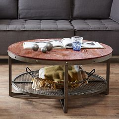INK+IVY Sheridan Industrial Coffee Table