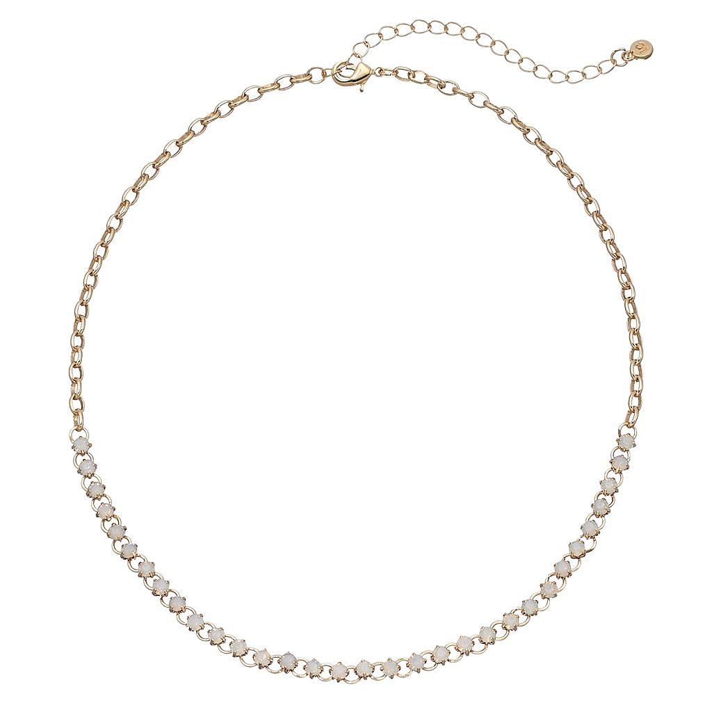 LC Lauren Conrad Cup Chain Necklace