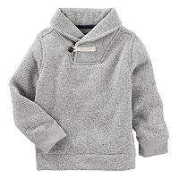 Boys 4-12 OshKosh B'gosh® Gray Toggle Shawl Sweater