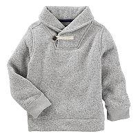 Boys 4-12 OshKosh B'gosh® Gray Toggle Shawl Sweater