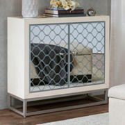 Madison Park Mirrored Storage Chest