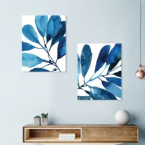 Artissimo Designs Stems I & II Canvas Wall Art 2-piece Set