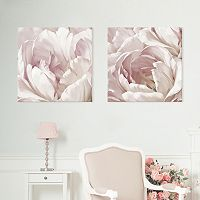 Artissimo Designs Intimate Blush I & II Canvas Wall Art 2-piece Set