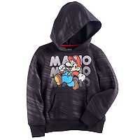 Boys 4-7 Super Mario Bros. Abstract Hoodie