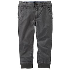 Boys 4-12 OshKosh B'gosh® Ribbed Cuff Jogger Pants