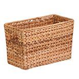 Honey-Can-Do Hyacinth Magazine Storage Basket