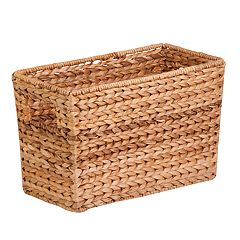 Honey-Can-Do Woven Magazine Basket