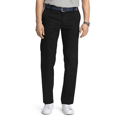 Men's IZOD American Chino Slim-Fit Wrinkle-Free Flat-Front Pants