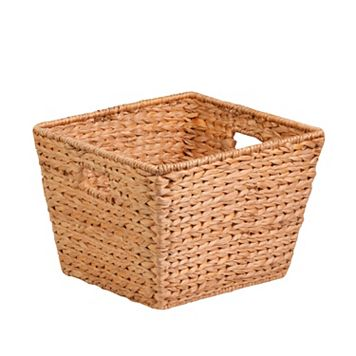 Honey-Can-Do Tall Square Woven Basket