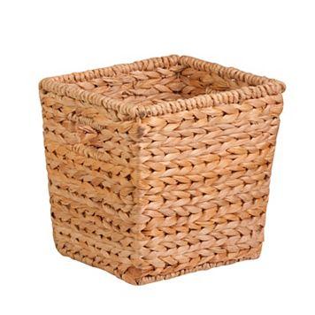 Honey-Can-Do Medium Square Woven Basket