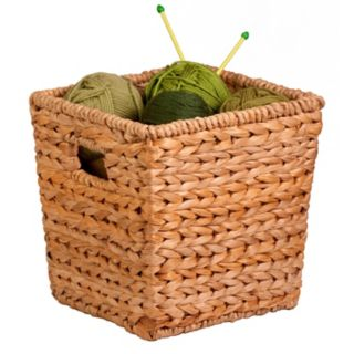 Honey-Can-Do Medium Square Woven Basket