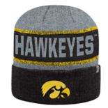 Adult Top of the World Iowa Hawkeyes Below Zero II Beanie