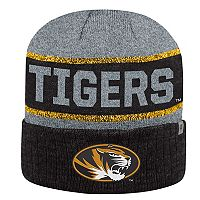Adult Top of the World Missouri Tigers Below Zero II Beanie