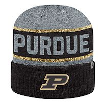 Adult Top of the World Purdue Boilermakers Below Zero II Beanie