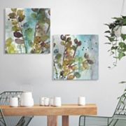 Artissimo Designs Within I & II Canvas Wall Art 2 pc Set
