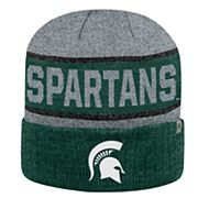 Adult Top of the World Michigan State Spartans Below Zero II Beanie