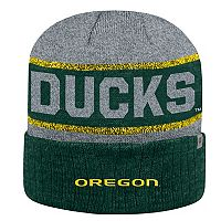 Adult Top of the World Oregon Ducks Below Zero II Beanie