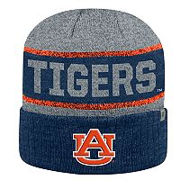Adult Top of the World Auburn Tigers Below Zero II Beanie