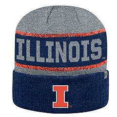 Adult Top of the World Illinois Fighting Illini Below Zero II Beanie