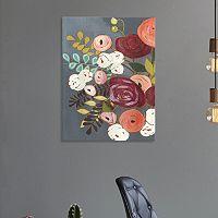 Artissimo Designs Wistful Bouquet II Canvas Wall Art