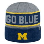 Adult Top of the World Michigan Wolverines Below Zero II Beanie