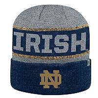 Adult Top of the World Notre Dame Fighting Irish Below Zero II Beanie