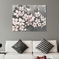 Artissimo Designs Cherry Blossoms Canvas Wall Art