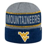 Adult Top of the World West Virginia Mountaineers Below Zero II Beanie