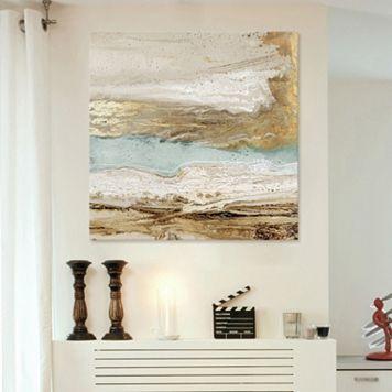 Artissimo Designs Playa Secreto II Canvas Wall Art