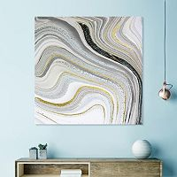 Artissimo Designs Marble I Canvas Wall Art