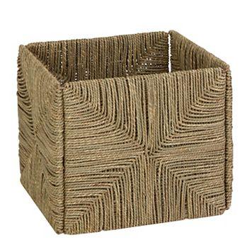 Honey-Can-Do Folding Sea Grass Basket