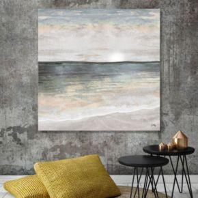 Artissimo Designs Ocean Cool Tones II Canvas Wall Art