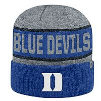 Adult Top of the World Duke Blue Devils Below Zero II Beanie