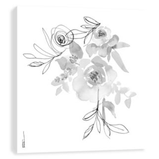 Artissimo Designs Shadow Simplicity Canvas Wall Art