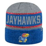 Adult Top of the World Kansas Jayhawks Below Zero II Beanie