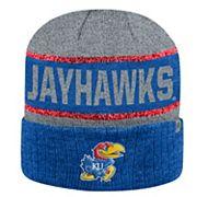 Adult Top of the World Kansas Jayhawks Below Zero II Beanie