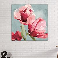 Artissimo Designs Sweet Pea I Canvas Wall Art