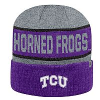 Adult Top of the World TCU Horned Frogs Below Zero II Beanie